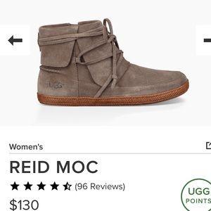 UGG Excellent Condition Slate Suede Reid Moc 8